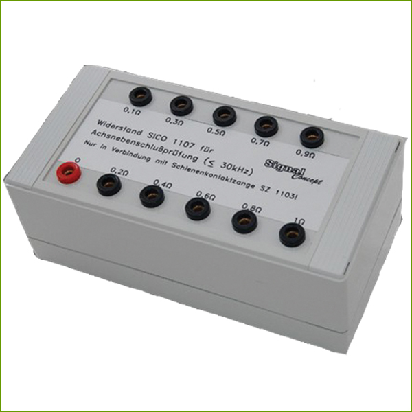 Resistor Unit for Axle Resistance Measurement SICO 1107