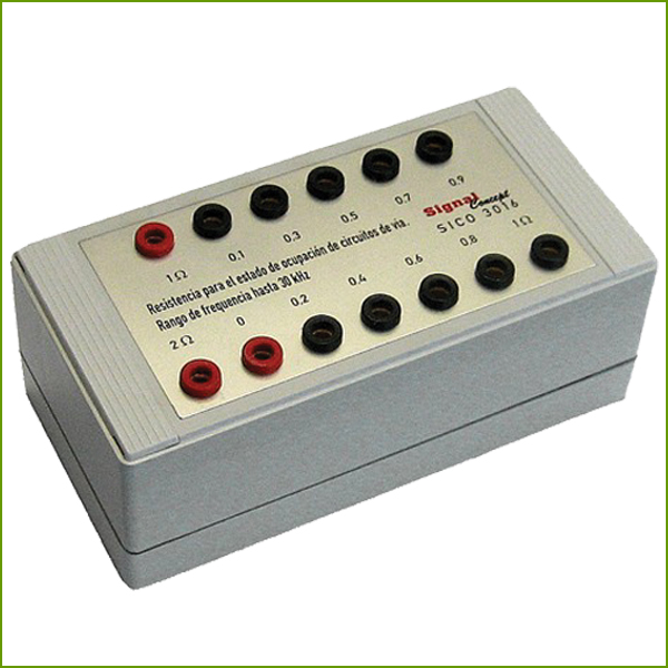 Resistor Unit for Axle Resistance Measurement SICO 3016